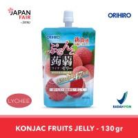 Minuman Jeli Orihiro Konyaku Jelly Pouch Lychee Leci