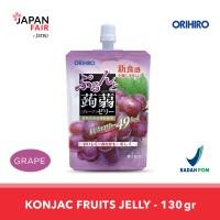 Minuman Jeli Orihiro Konyaku Jelly Pouch Grape Anggur