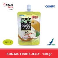 Minuman Jeli Orihiro Konyaku Jelly Pouch Nashi Pir (Pear)