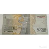 Uang koleksi dengan nomor seri unik