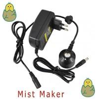 Mist Maker Ultrasonik (Pembuat Kabut Untuk Kelembaban Ruangan)