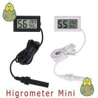 Higrometer mini-Termometer Mini (Pengukur Suhu dan Kelembaban)