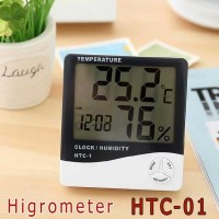 Higrometer-Termometer-Humidity Detector (Pengukur Kelembaban) HTC-01