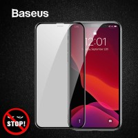 BASEUS Anti Privacy Iphone 11 PRO MAX X XS MAX Tempered Glass Spy