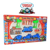 STORIQA Mainan Kereta api Train Play Set Thomas And Friends