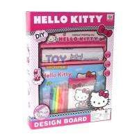 STORIQA Mainan Edukasi Anak Drawing Board Hello Kitty - Mainan Mewarna