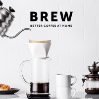STORIQA Buku Import - BREW Better Coffee at Home Hardcover