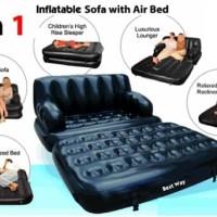 STORIQA Bestway Sofa Bed 5 in 1 Hitam 5 in 1 75038