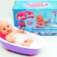 STORIQA Mainan Anak Electric Bath Tub Bayi/ Mainan Bak Mandi Bayi