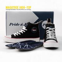 Magatroe Selvedge Shoes High Top