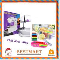 Mesin Jahit Mini Portable SM-202 Free Alat Set Jahit