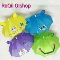Payung anak mini karakter / payung lipat anak paud