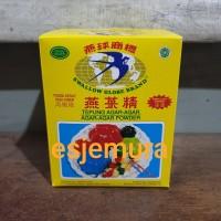 Agar Agar Swallow Globe warna Hijau (Green) / kotak @12 pcs