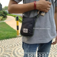 Tas Selempang Mini Travel Eiger 5016 001 Passport Pouch Original