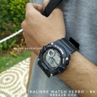 Jam Tangan Digital Outdoor Kalibre Watch Verbo 996228 000 Original