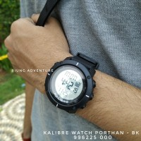 Jam Tangan Digital Pria Outdoor Kalibre Watch Porthan 996225 000 New