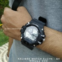 Jam Tangan Pria Digital Outdoor Kalibre Watch Elgyn 996222 000 New