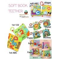 Buku kain mainan bayi jj ovce/ soft book jj ovce / mainan edukasi bayi