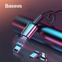 BASEUS Kabel Zinc Magnetic Micro USB Type C Lightning Fast Charging