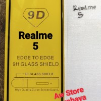 tempered glass realme 5i full cover