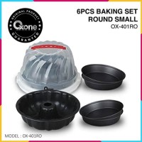 Oxone 6pcs Baking Set Round Small OX-401RO