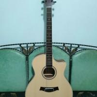 gitar akustik elektrik cole clark natural eq 7545 murah jakarta