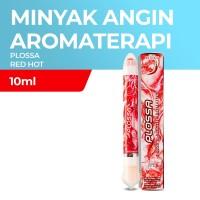 Plossa Redhot 10ml - Minyak Angin Aromatherapy