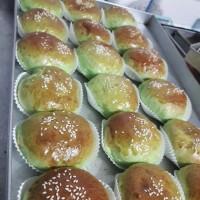 serikaya/ unti kelapa / kacang hijau bun enak, lembut dan halal di jak