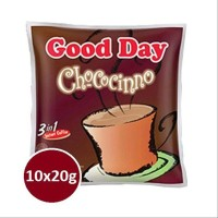 SALLE...Good Day 3In1 Chococinno Sachet 20g 1Renceng Isi 10 Pcs - df