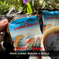 Kopi Liong Bulan Kopi & Gula Kopi Legend dari Bogor 25gr x 20scht