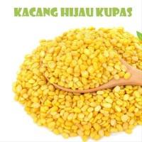 Kacang Hijau Organik Kupas Kemasan 100 gr Peeled Mung Beans Bean