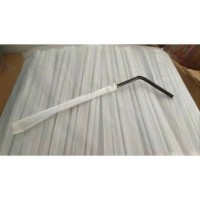 Sedotan Hitam Steril bungkus kertas
