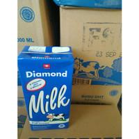 Susu UHT Full Cream Diamond 1Liter satuan