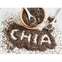 Black Chia Seed Organic Seeds Hitam MPASI 50gr