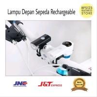 Lampu Depan Sepeda Rechargeable