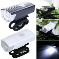 Lampu sepeda LED USB Recharherable