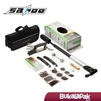 (LENGKAP) 1 Set Bike Toolkit Sepeda Sahoo / Alat Repair Pompa Tambal
