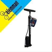 Pompa Sepeda Avand Pressure Meter Alloy Hitam