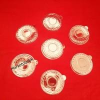 Tutup Gelas Plastik/Tutup Gelas Puding/Tutup Cup Sayur 120ml 50pcs
