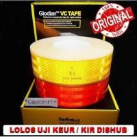 Sticker Syarat Keur Dishub / Reflektor / Scotlight / Pemantul Cahaya