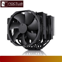 Air CPU Cooler NOCTUA - NH-D15 CHROMAX.BLACK, Intel & AMD, 14CM Fan