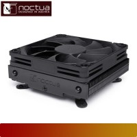 Air CPU Cooler NOCTUA - NH-L9I CHROMAX.BLACK, Intel & AMD, 9CM Fan