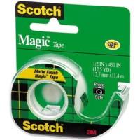 SCOTCH MAGIC TAPE 104 UK.1/2 IN X 45 IN / 3M SCOTCH MAGIC / CAT 104