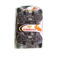 Gamepad Welcome Double Dual X Shock 2 Controller USB