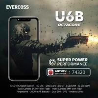 Evercoss U6B 2/16GB - Garansi Resmi