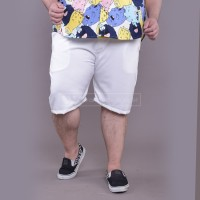 Short Pants Big Size Jumbo XXL XXXL WGB White