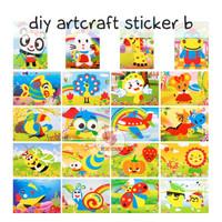 Zoetoys DIY Artcraft sticker A | mainan edukasi | mainan anak