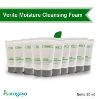 [sarogayo] READY STOCK Verite Moisture Cleansing Foam 50 ml Trial Size