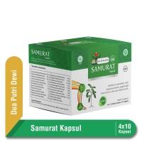 Samurat obat Asam Urat Kapsul 500 mg Strip 4 Kapsul Multipack 10 Pcs