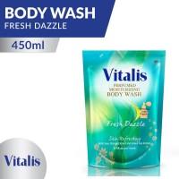 Vitalis Body Wash Fresh Dazzle Pouch 450 ML